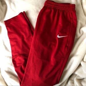Nike Red Dri-Fit Men's USA Soccer Jogger Pants